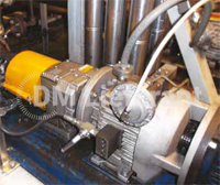 Chemical plant K5 variator with remote pneumatic speed control