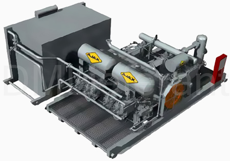Интегральные поршневые мотор компрессоры AJAX