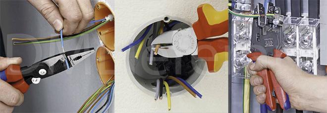 Инструменты для монтажа электрических систем и электроники