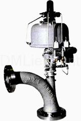 Угловой клапан со скругленным корпусом 73000