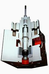 Угловой многоступенчатый клапан 79000 с затвором VRT