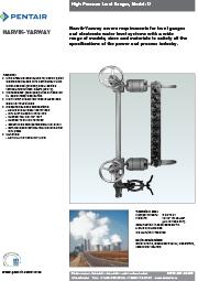 Уровнемер высокого давления Narvik-Yarway модель 17