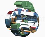 Соединительные муфты для насосов и компрессоров Wrapflex
