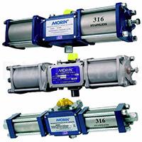 Гидравлические четвертьоборотные приводы управления арматурой HP