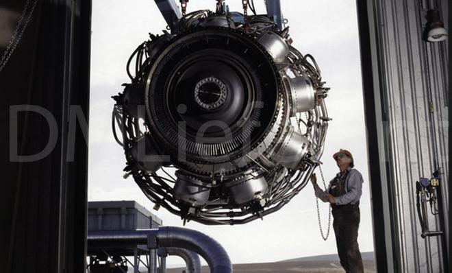 Rb211 jet engine