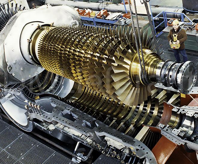 Картинки по запросу турбина SGT5-2000E