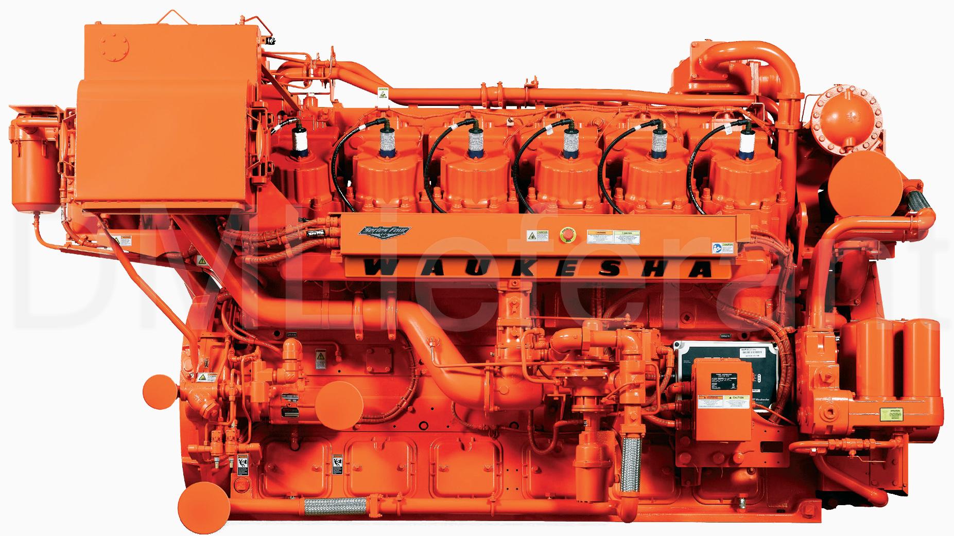 Двигатели Waukesha Vhp