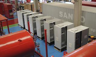 Отгрузка противопожарного оборудования итальянского бренда Sanco