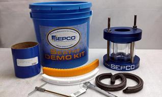 Отгрузка демонстратора сальниковой камеры SEPCO SEAT-It Packing Pusher Kit