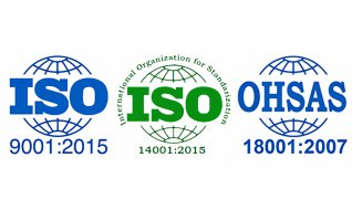 Сертификация по ISO 14001:2015, ISO 9001:2015 и OHSAS 18001:2007