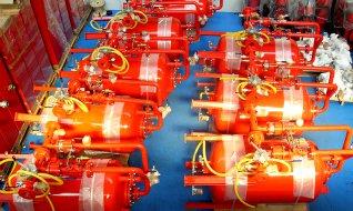 Решения для пожаротушения Sanco