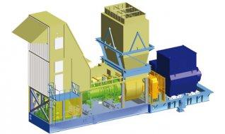 Поставки газовой турбины SGT-600 с генератором Brush