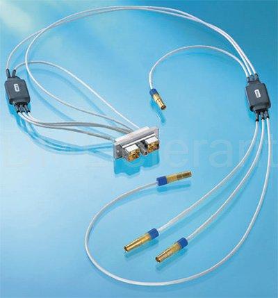 Электрические соединители Axon' Cable