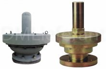 Вакуумные предохранительные клапаны A.S.T. SVC-1000, -1100